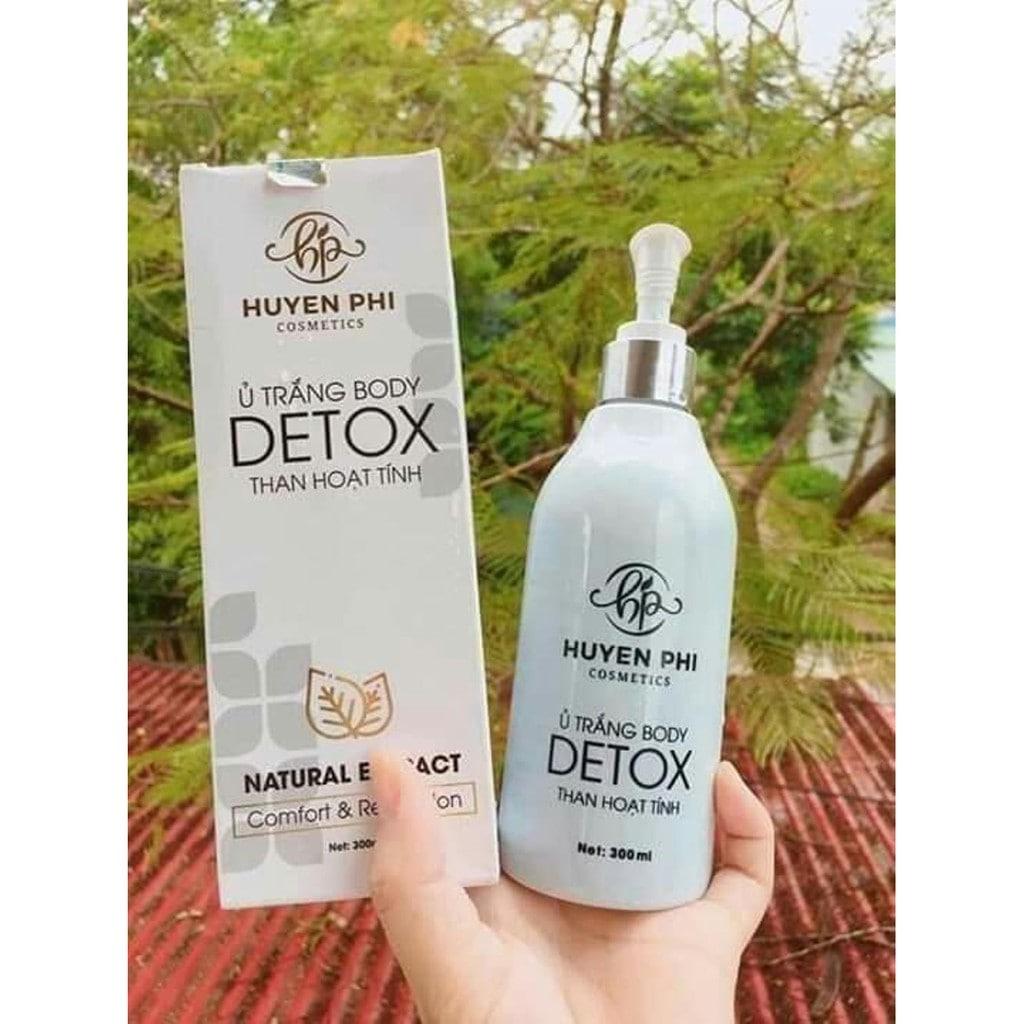 Công dụng ủ trắng body detox