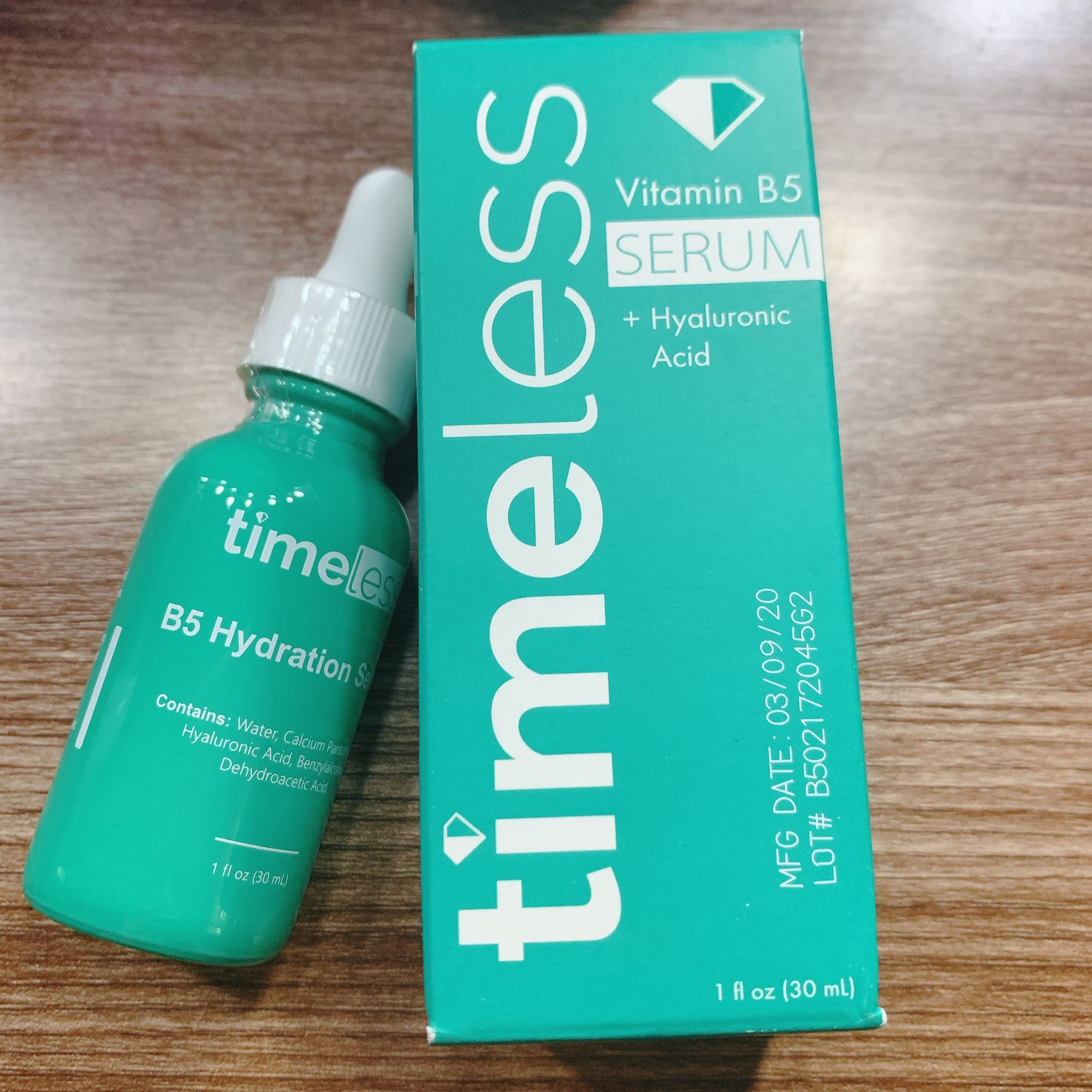 Serum Timeless vitamin B5