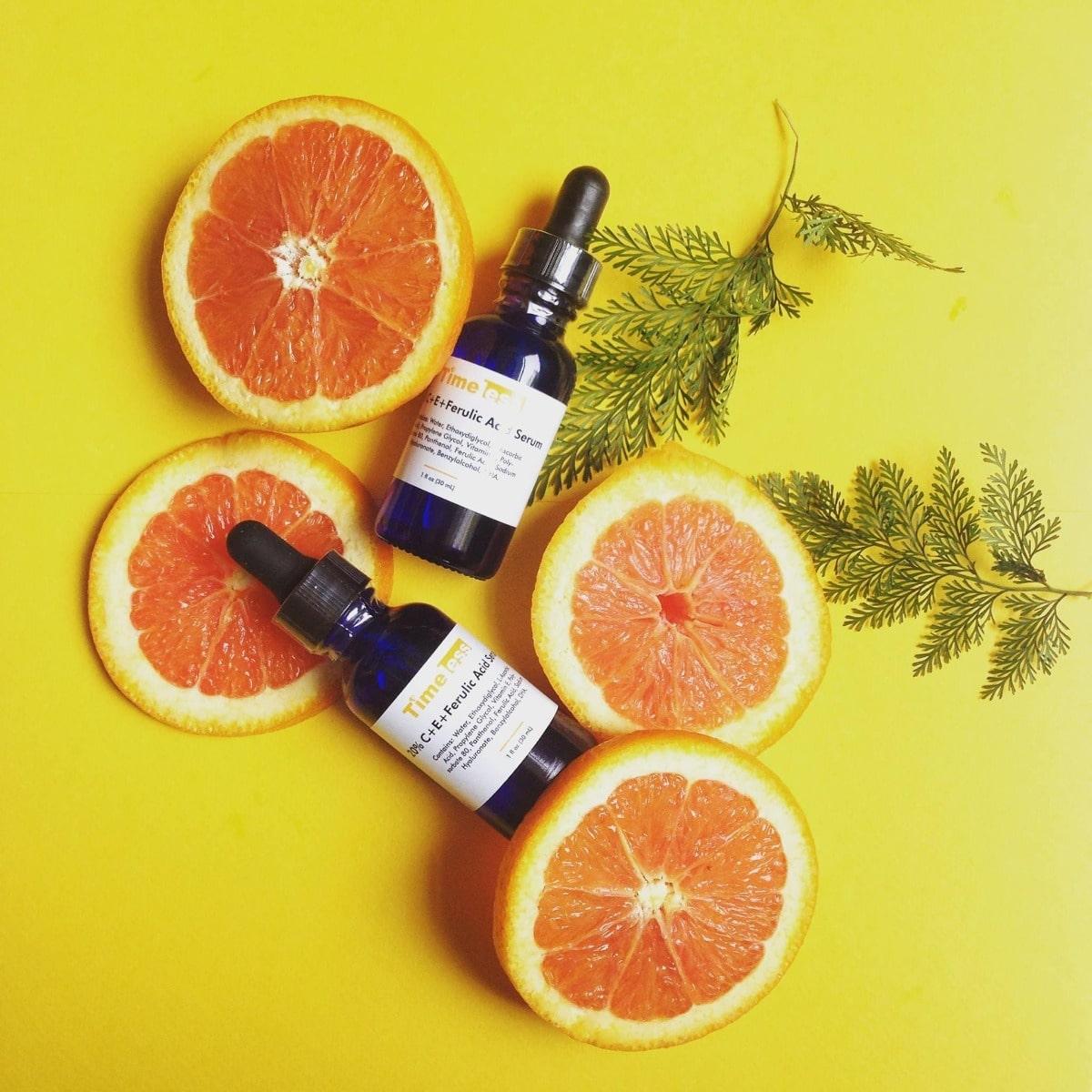 Timeless vitamin C và E