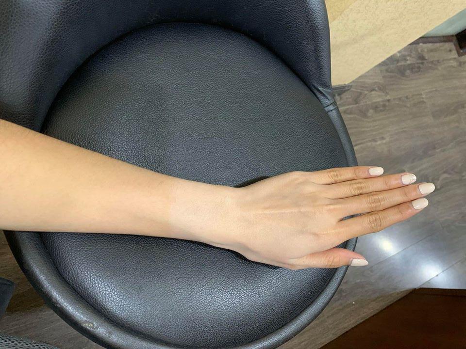 Hình ảnh khách hàng sử dụng kem body mềm