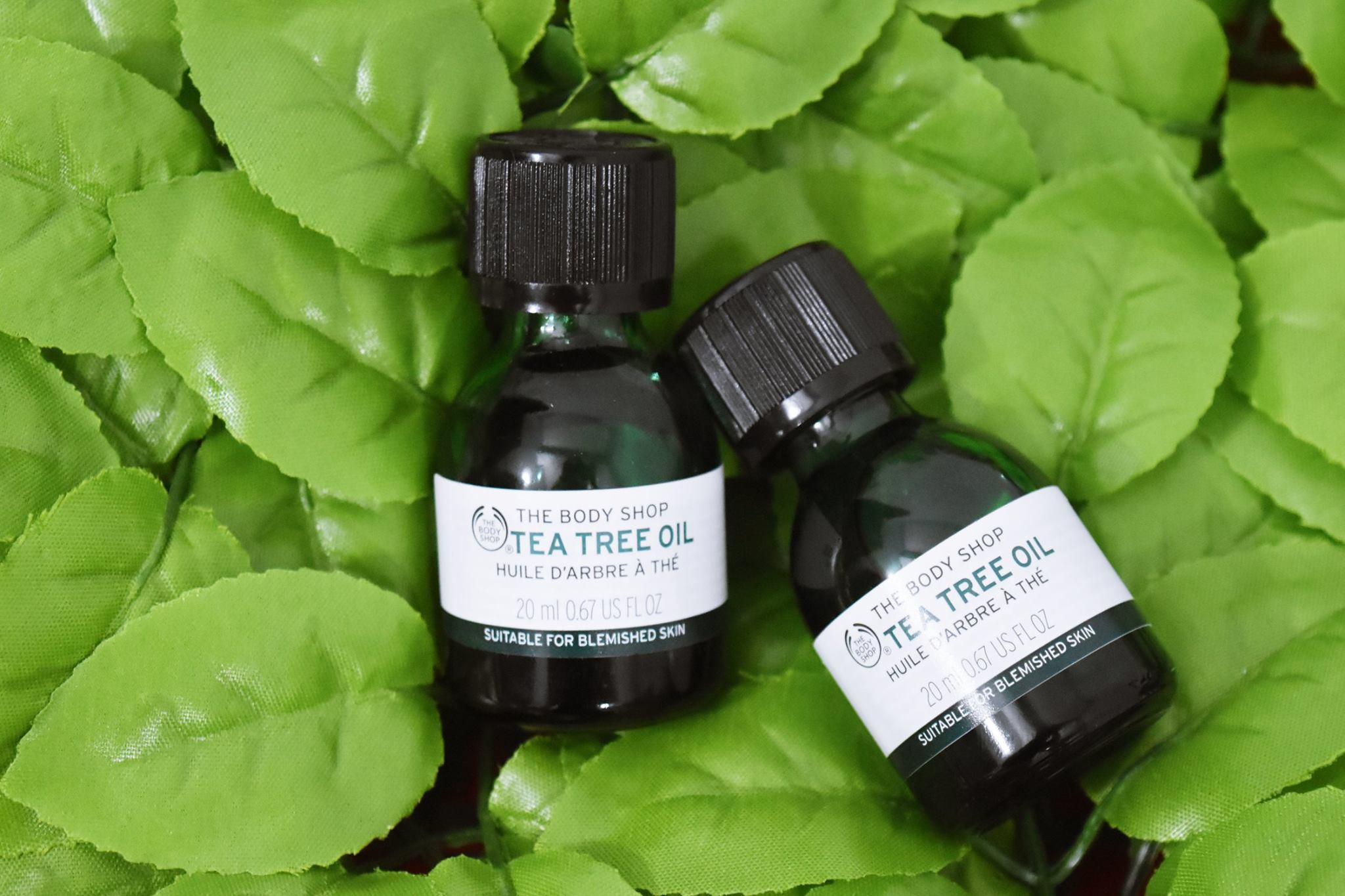 Công dụng tea tree oil the body shop