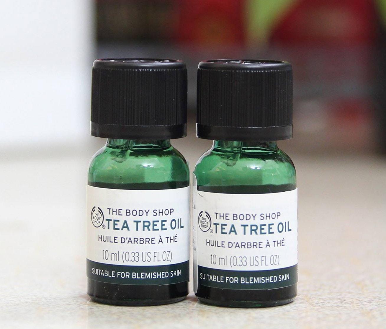 Giá của tea tree oil the body shop