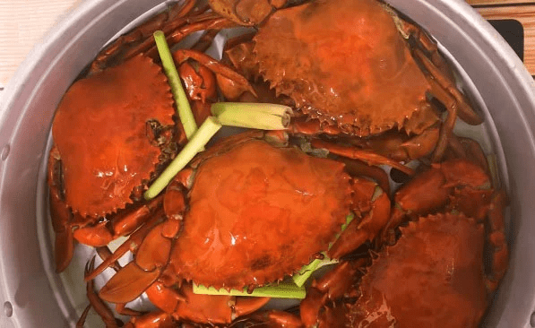 Cách luộc cua biển với Sả