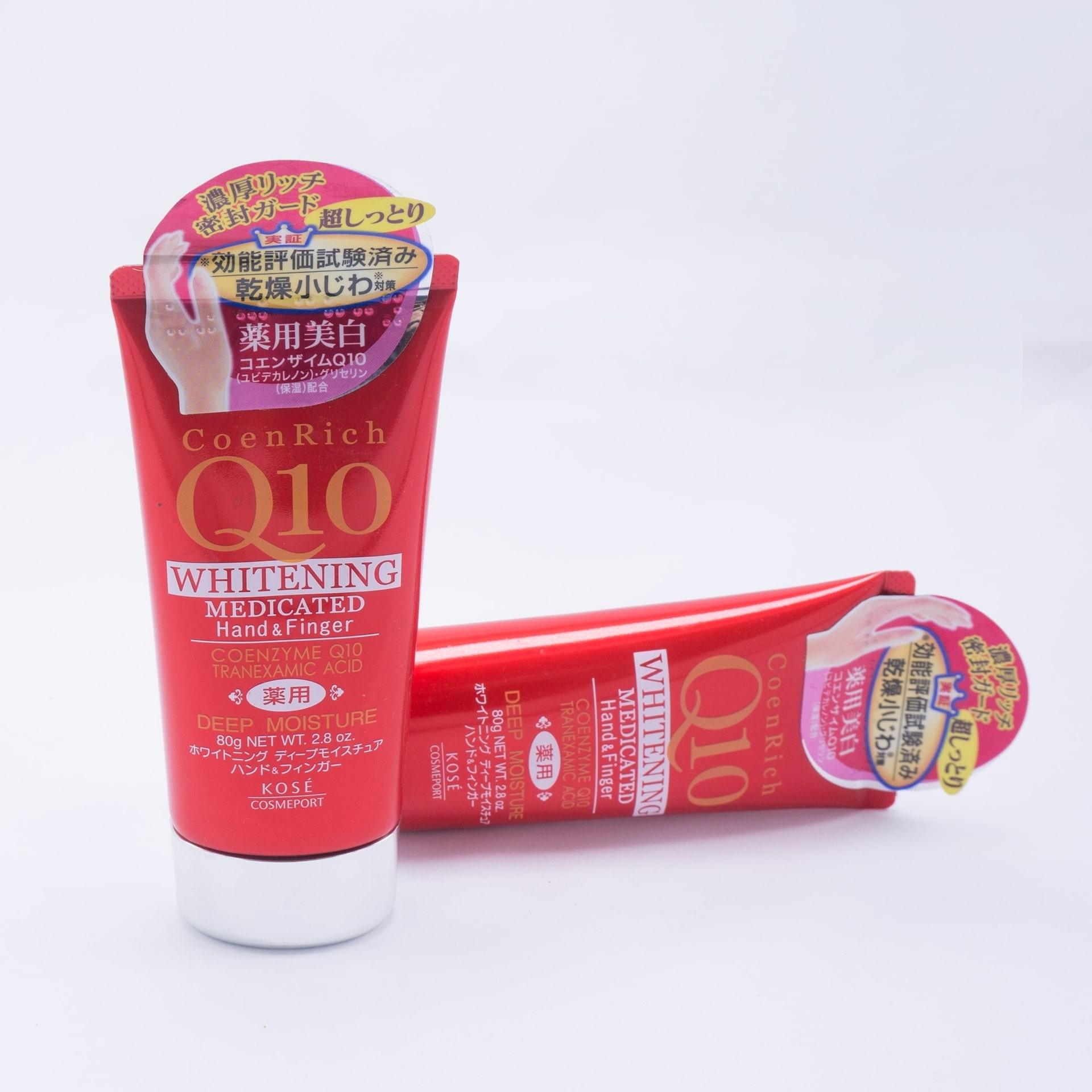 Kem dưỡng da kkose Q10 whitening medicated