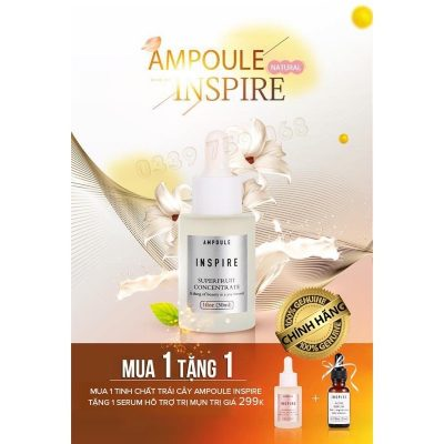 Ưu đãi combo Ampoule Inspire