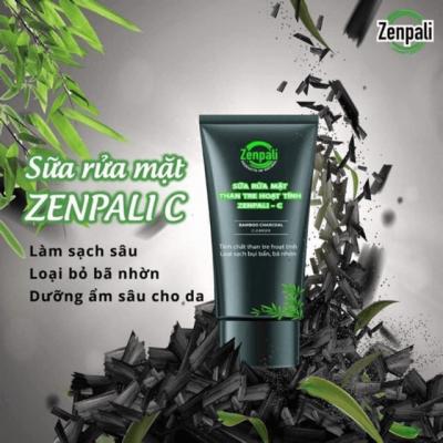 Sữa rửa mặt than tre hoạt tính Zenpali